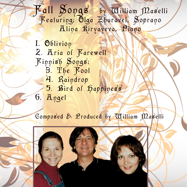 Fall Songs by William Maselli